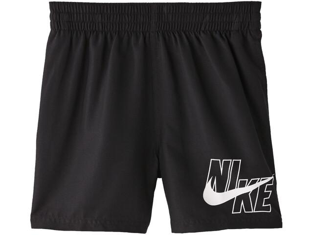 "Nike Swim Logo Solid 4"" Volley Shorts Jongens, zwart"
